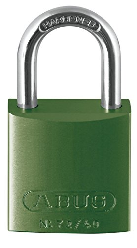 ABUS Aluminium Padlock 72/40 Green, 43600 ()