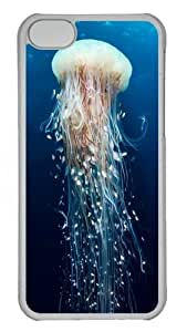 iPhone 5C Case and Cover -Under The Sea PC Case Cover for iPhone 5C and iPhone 5C Transparent