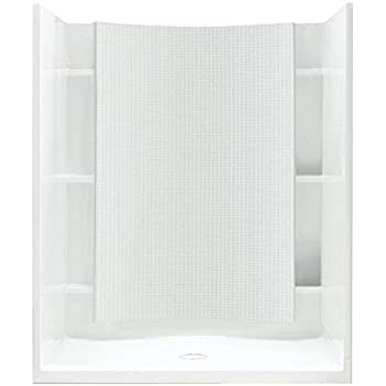 Sterling Plumbing 72260100 0 Accord Shower Kit, 48 Inch X 36 Inch