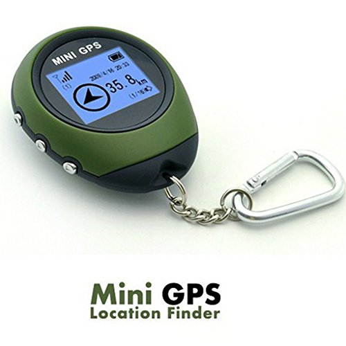 Winterworm Outdoor Mini Handheld Portable GPS Navigation Location Finder Dot Matrix Display for Biking Hiking Travelling Geoaching Wild Exploration from Winterworm