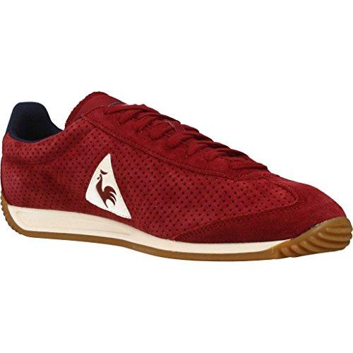 Sportif Perforierte Nubuk Le Quartz Rot Schuh Coq 8qxwn1RU