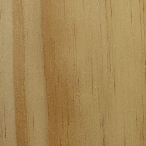 Casual Home 301-30 Montego 3-Shelf Folding Bookcase, Natural