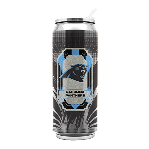 NFL Carolina Panthers 16oz Double Wall Stainless Steel ()
