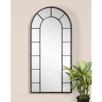 Extra large full length palladian arch wall for Full length window mirror