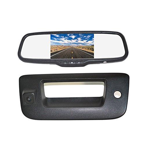 Handle Silverado Chevrolet Tailgate 1500 (Vardsafe | Tailgate Handle Reverse Backup Camera + 5
