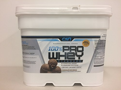 CSN 25lb Whey Protein (Chocolate Ice Cream) by CSN