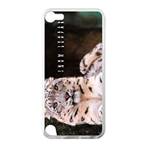 Beautiful Snow Leopard Hot Fashion Design Case for IPod Touch 5 TPU (Laser Technology) Style 02
