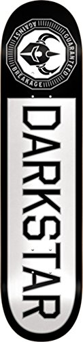 Darkstar Skateboard Deck (Darkstar Timeworks White / Black Skateboard Deck - 8