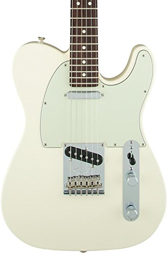 Fender Limited Edition American Standardf Telecaster with Painted Headstock - Olympic - Fender American Telecaster Standard