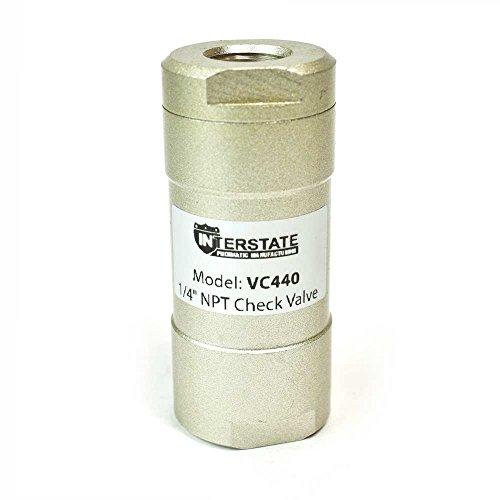 Interstate Pneumatics VC440 In-Line Check Valve 1/4