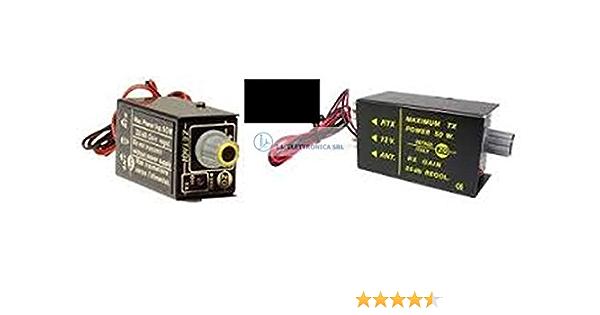 ZETAGI P-27 M Mini Preamplificatore de antena de CB band 25 dB