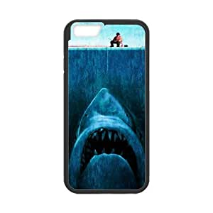 Cute Shark Underwater Sea Shark Jumping Snap on Case Cover for Personalized Case for iPhone 6 (Laser Technology) Case 4.7 inch Screen iPhone -05