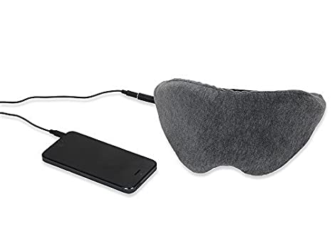1 Voice Sleep Headphones Eye Mask, Grey