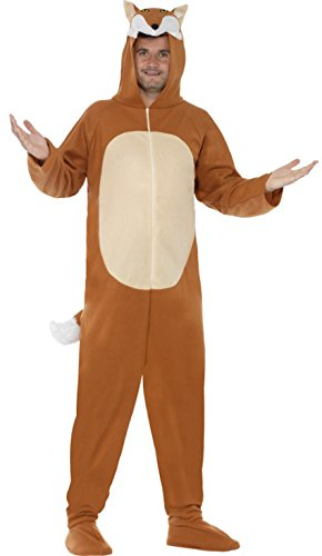 Adults All In One Fox Costume