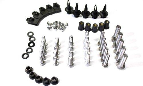 Gsxr750 Fairings (2006 2007 GSX-R600 06-07 GSX-R750 Motorcycle Complete Silver Fairing Bolt Screws kit GSXR 600 750)