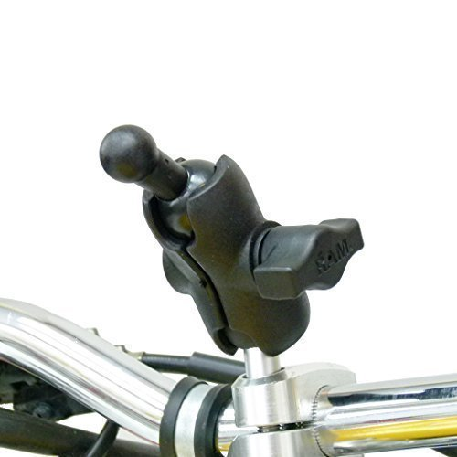buybits M8 MOTO montaggio con 17mm adattatore per Garmin Nuvi navigatore satellitare GPS PORTA supporto 31133