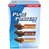 Pure Protein Bar Variety Pack (1.76oz,18 bars) (pack of 6)