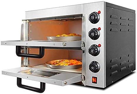 SWEET Horno Eléctrico Horno De Pizza Alitas De Pollo Horno Doble 2 ...