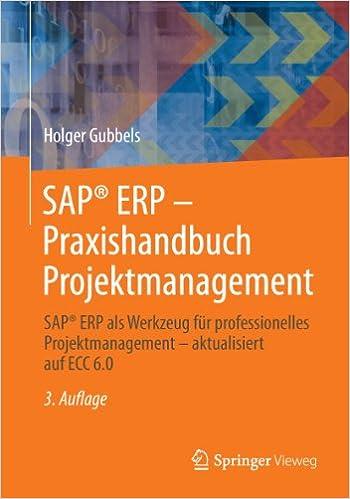 sap erp praxish andbuch projektmanagement gubbels holger