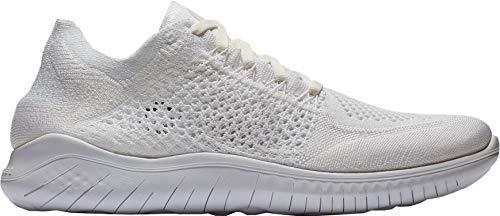 103 Laufschuh 2018 Scarpe Nike Free Bianco Running da Run Flyknit White Uomo 6cWqPZPd