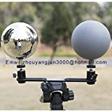 LSX VFX 12cm Profession Camera Reflector Stainless Steel Hollow Sphere Photographic Props Set