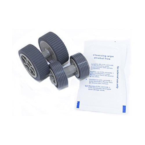 YANZEO PA03540-0001 PA03540-0002 Brake Pick Up Roller for Fujitsu Fi-6130 Fi-6130z Fi-6140 Fi-6230