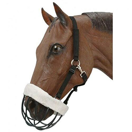 (Tough-1 Freedom Muzzle w/ Nylon Headstall - Horse)