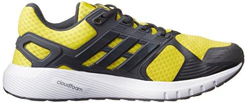 Adidas Duramo 8 Heren Hardloopschoenen Trainers Sneakers Geel (helder Geel / Donkergrijs / Donkergrijs)
