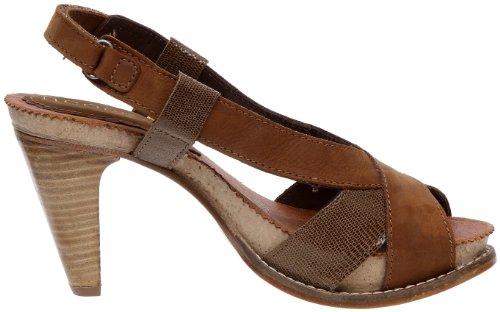 Neosens - Zapatos de cuero para mujer Marrón