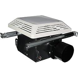 Air King ASLC50 Advantage Exhaust Bath Fan with Light, White Finish