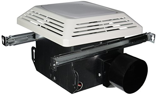 - Air King ASLC50 Advantage Exhaust Bath Fan with Light, White Finish