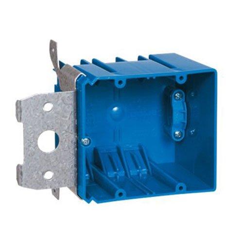UPC 034481177029, Carlon B234ADJC Outlet Box, 2 Gang, New Work, 5-5/8-Inch Width by 3-Inch Depth by 3-5/8-Inch Height, Blue