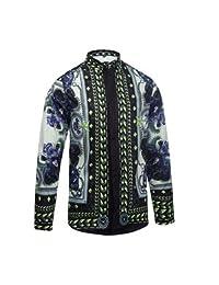 MAYUAN520 Camisa de hombre mens medusa shirt moda tops estilo Palace LUJO desgaste mens Casual Digital 3D mis camisas florales