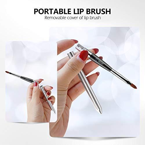 BESTOPE 16Pcs Makeup Brushes Set, 4Pcs Beauty Blender Sponge Set and 1 Brush Cleaner, Premium Synthetic Foundation Brushes Blending Face Powder Eye Shadows Make Up Brushes Kit 3