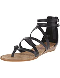 Blowfish Women's Bungalow Synthetic Ankle-High Synthetic Sandal