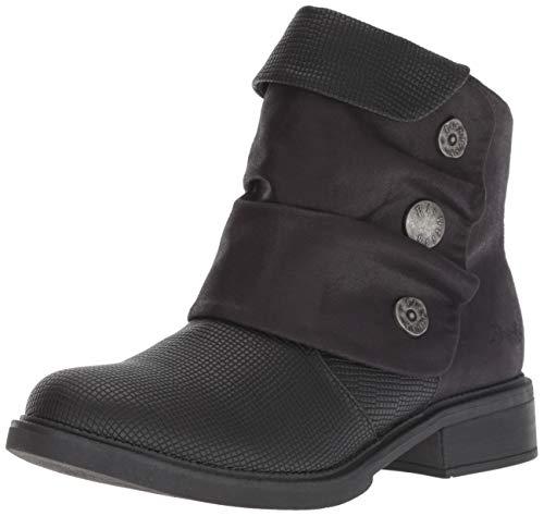 Blowfish Women's Vynn Fashion Boot, Black Rocksteady Polyurethane, 7 Medium US