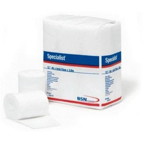 BSN 9043 3 in. x 4 yard 100 Percentage Cotton Specialist Cast Padding, 12 Rolls per Bag (Specialists Moisture)