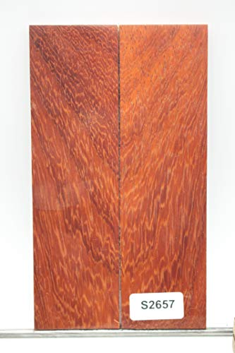 Unique Wood Knife Scales - Knife Handle Material - Wood Scales - Wood Handle Material for Knives - Knife Making Supplies - Gun Grip Handle Material - Payne Bros - Knives of Payne (VS123) (6162)