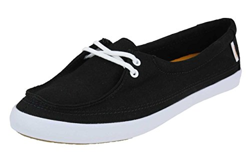 VANS-Rata-Lo-Hemp-Sneaker-Boat-Surf-beach-black
