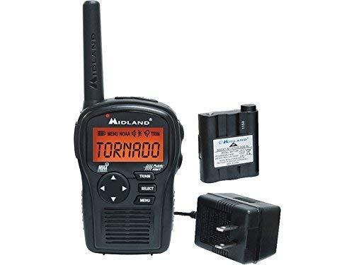 Midland EH55VP E+Ready Hand Held Weather Alert Radio with NOAA