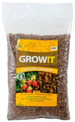 (Hydrofarm AD113000 Grow!t Coco-Can Croutons, 28 L)