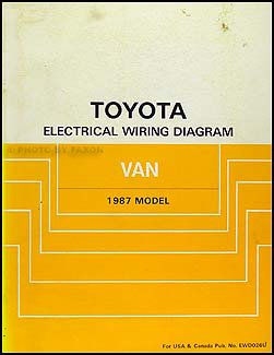 41gk89q5H0L._BO1204203200_ 1987 toyota van wiring diagram manual original toyota amazon com toyota van wiring diagram at bayanpartner.co