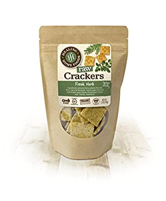 Fresh Herb Raw Crackers