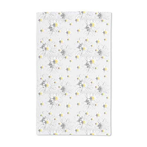 Extra Soft Microfiber Hand Towel - Daydream With Daisies by Andrea M?¬hlbauer - 15.5