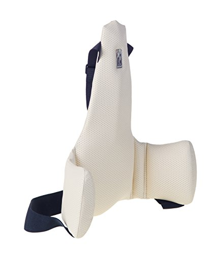 Kulik System Driver Lumbar Support Ergonomic Posture Corrector Back Pain Relief for Car Seat ()