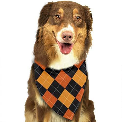 COJOP Buffalo Gashes Party Triangle Pet Scarf Dog Scarves Dog Bandana 18.5