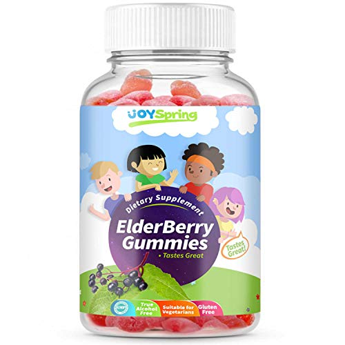 System Immune Sambucus (Sambucus Elderberry Gummies for Kids - Vitamin C Immune System Booster - Tasty Triple Action Gummy Bears with Echinacea and Propolis - Mom Made, Toddler Approved)
