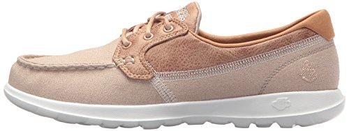 Naturel 15430 Chaussure Pour De Lite Femme Go Bateau Walk Skechers Sz4wq7g