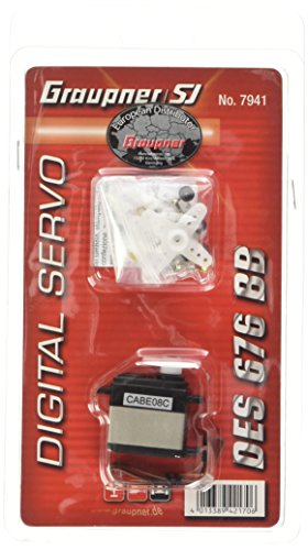 Graupner Servo DES 676 BB Coreless Speed - Servo Speed Coreless