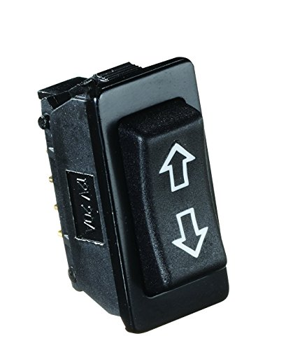 RV Designer S125, Rocker Switch, 20 Amp Continuous, 40 Amp Peak, Black by RV Designer Collection